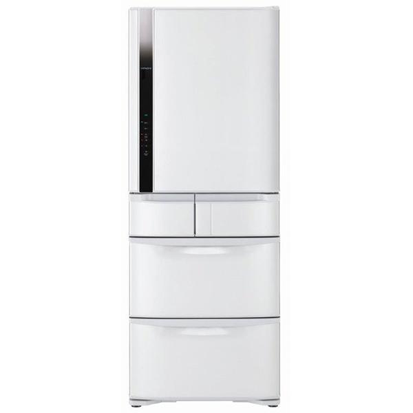 【日立HITACHI】日本原裝變頻477L。五門電冰箱。星燦白(RS49FJ/RS49FJ_W)