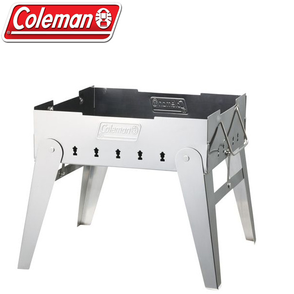 【露營趣】中和 美國 Coleman 極致品味 焚火台 桌上型烤肉架 營火晚會 可放荷蘭鍋 附燒網 烤肉網 CM-9434