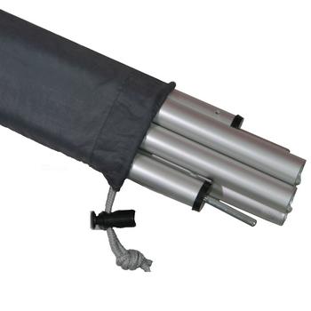 【露營趣】中和 好野 Outthere 馬卡龍六人帳 170cm高級鋁合金撐門桿組 營柱 前庭柱﹝一組兩支