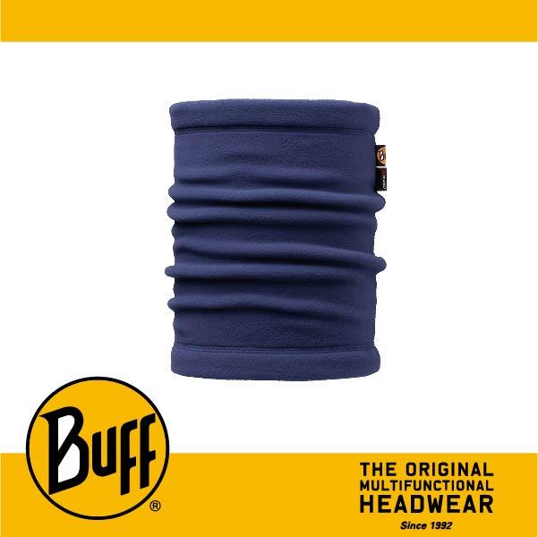 BUFF 西班牙魔術頭巾 POLAR保暖系列 領巾 [深藍素面] BF107920