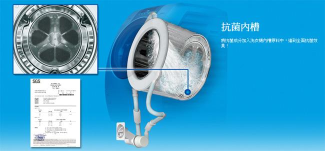 panasonic 国际牌 na-v130udh-w 13kg 滚筒变频洗衣机