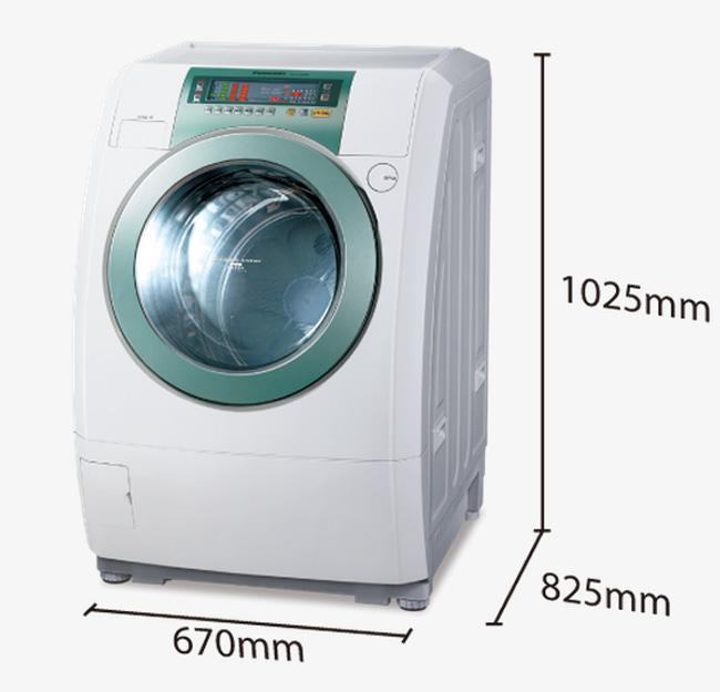 panasonic 国际牌 na-v130uw-h 13kg 滚筒变频洗衣机