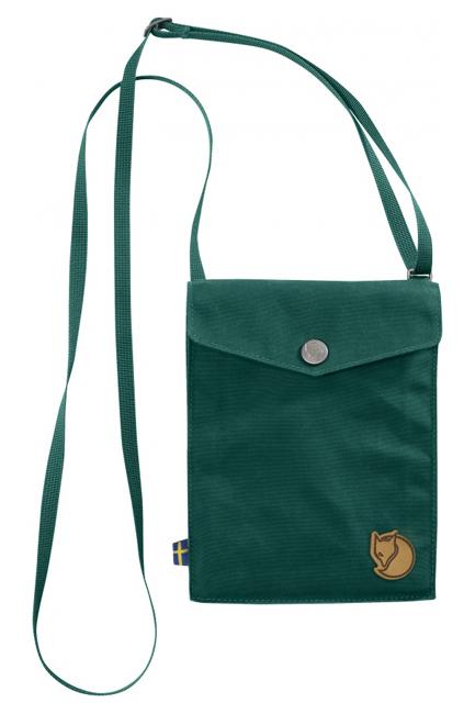 【鄉野情戶外專業】 Fjallraven |瑞典|  Fjällräven Pocket 旅行隨身袋 護照包 側肩包《銅綠色》 _24221