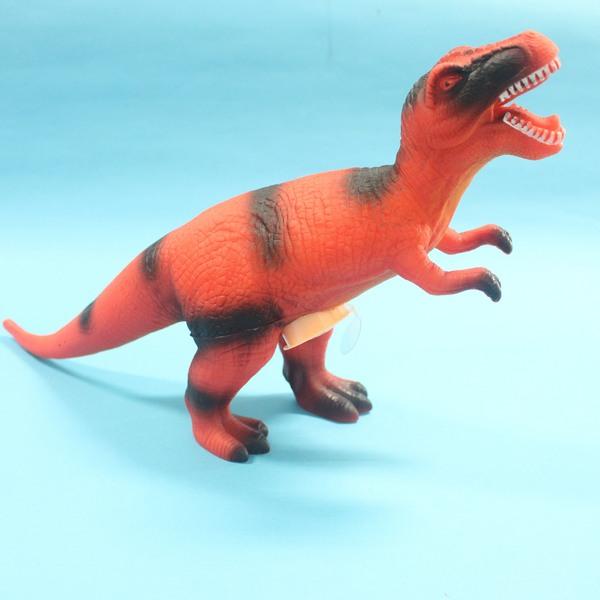 恐龍公仔 暴龍 聲效恐龍 仿真恐龍模型 侏羅紀恐龍玩具(會叫.全身軟膠)/一隻入{促199}