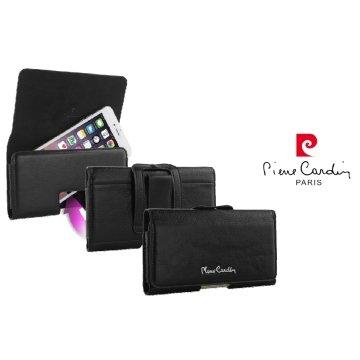 *╯新風尚潮流╭* 皮爾卡登 三星 SAMSUNG Note4 Note5 真皮手機殼 5.5 保護殼 皮套 K03-L