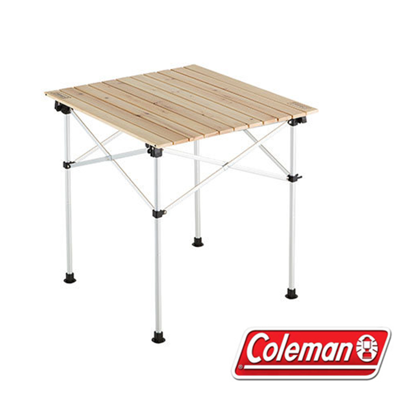 Coleman 美國   天然實木蛋捲桌/65   秀山莊(CM-23502)