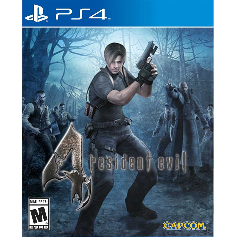 PS4 惡靈古堡 4 完整版 英文美版(含所有DLC) RESIDENT EVIL 4
