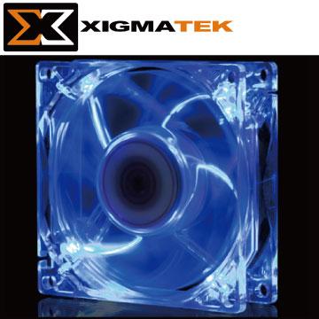 Xigmatek CLF-F8251 8cm 藍光 LED 系統散熱風扇
