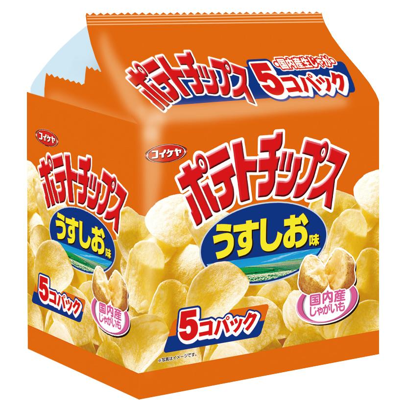 湖池屋鹽味洋芋片 150g