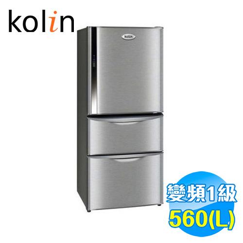 歌林 Kolin 560L 雙門電冰箱 KR-356VB01