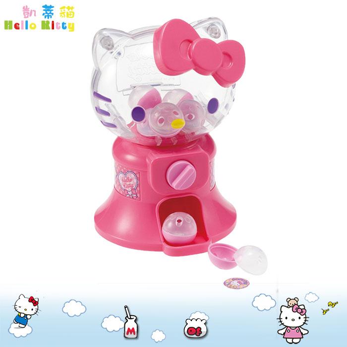大田倉 日本進口正版Hello Kitty 凱蒂貓 三麗鷗 迷你扭蛋機玩具 扮家家酒 親子 138913