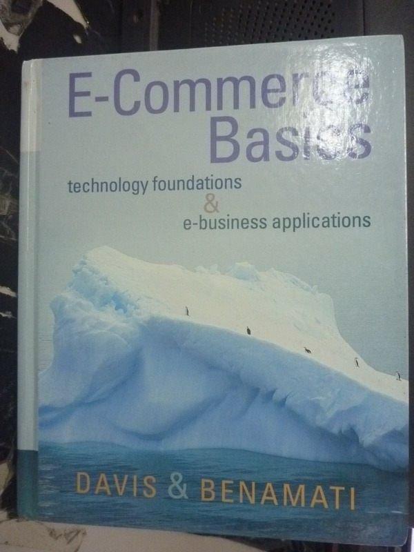 【書寶二手書T3/大學資訊_WGP】E-COMMERCE BASIC