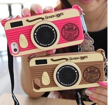 (預購) 小熊掛繩 相機手機殼 iphone 6 / iphone 6s  / iphone 6s plus