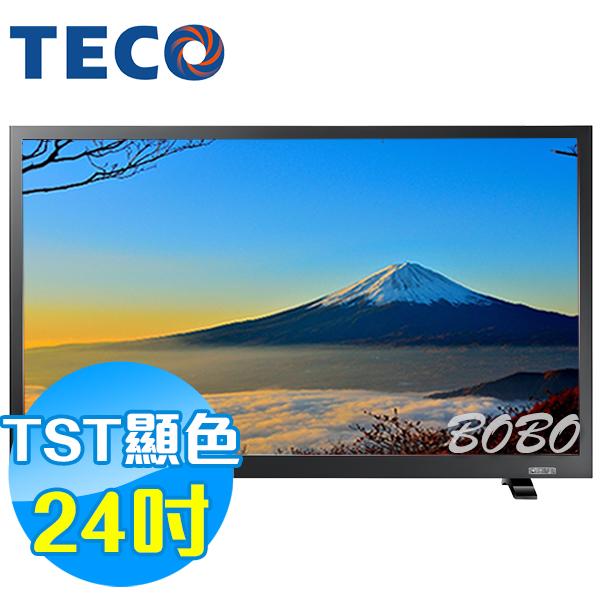 TECO東元 24吋 TL2406TRE LED液晶顯示器 液晶電視(含視訊盒)