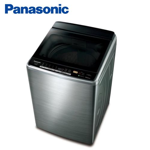 ★2017.2.15前贈好禮★『Panasonic』☆國際牌 15公斤ECO NAVI不銹鋼變頻洗衣機 NA-V168DBS-S **免運費+基本安裝+舊機回收**
