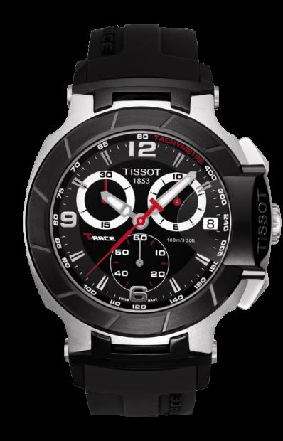 TISSOT天梭T0484172705700賽車系列計時腕錶/黑面45.3mm