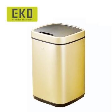EKO臻美自動感應垃圾桶-9L(香檳金)
