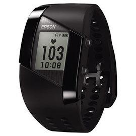 EPSON Pulsense 心率智慧手錶 PS-500B  螢幕7種畫面顯示:即時心率、燃脂區間、步數、卡路里