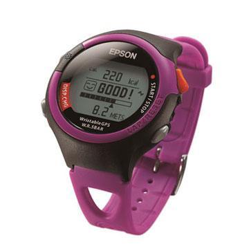 EPSON 鐵人腕式 GPS SS-301P 愛跑休閒型 運動手錶 9K初學者的最佳教練 中文化介面