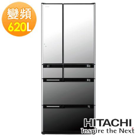 HITACHI 日立 620L 日本原裝超大容量六門電冰箱 RSF7800D / 7800D - 琉璃鏡  ★日本原裝! 金緻✶禮讚 ✿104年12月31前回函申請 7-11商品卡!