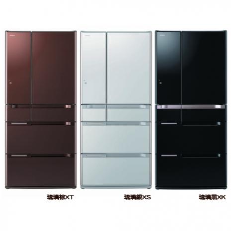 HITACHI 日立 670L 日本原裝超大容量六門電冰箱 RSF8800D / 8800D - 三色琉璃 ★日本原裝! 金緻✶禮讚 ✿104年12月31前回函申請 7-11商品卡!