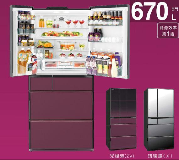 日立 HITACHI 日本原裝進口 一級 變頻 670L 六門電冰箱 RSF9902E/ R-SF9902E 金緻✶禮讚 ✿104年12月31前好禮送+回函申請 7-11商品卡!