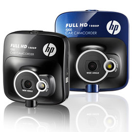 HP 惠普 F200 Full HD高畫質行車記錄器 1920x1080P 2.4吋彩色液晶大螢幕