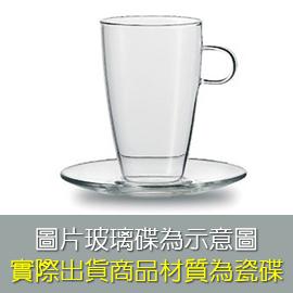 JENAER GLAS Latte Macchiato 咖啡杯2入+瓷碟2入 ★耐熱溫度可達攝氏450度