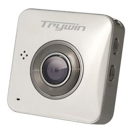 Trywin WD3 超輕巧無線雲端行車記錄器 - 珍珠白 ★ 概念新機隨機加贈8G 高速卡