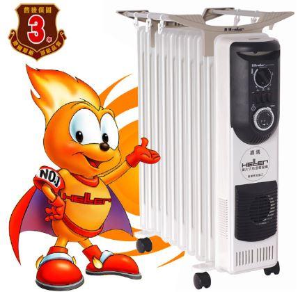 德國嘉儀 HELLER 葉片式定時電暖爐 10葉片 KE210TF KE-210TF