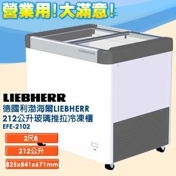 德國利勃 海爾 LIEBHERR 212公升 玻璃推拉冷凍櫃 EFE-2102 指針式溫度計