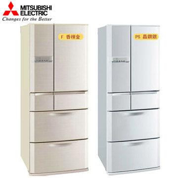 MITSUBISHI MR-E60R  三菱 601L 日本原裝變頻六門電冰箱 節能運轉模式(ECO)二段設定