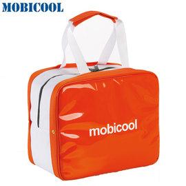 瑞典 MOBICOOL 義大利原創設計 ICECUBE S 保溫A保冷輕攜袋(橘色)