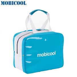 瑞典 MOBICOOL 義大利原創設計 ICECUBE S 保溫保冷輕攜袋(水藍色)