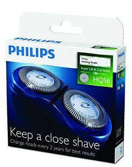 飛利浦PHILIPS 刮鬍刀刀頭替換件 - HQ56/21