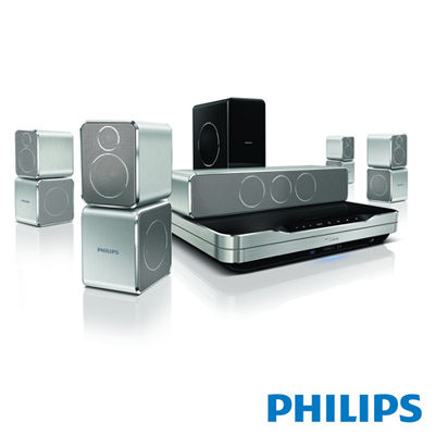 Philips飛利浦 HTS952 360Sound 3D藍光家庭劇院 杜比 TrueHD 與 DTS-HD