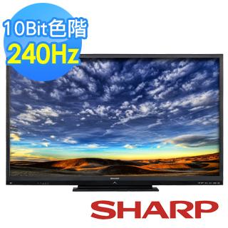 SHARP 夏普 60吋 LC-60LE666AT 240倍速連網 3D LED 液晶電視  ★2014年最新上市機種!