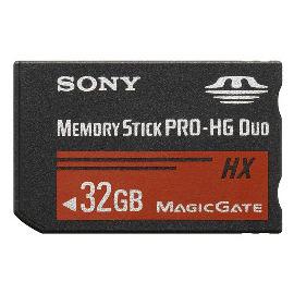SONY MS-HX32A/MS-HX32B 新型MS PRO Duo HX 32GB高速存取記憶卡