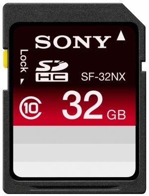 Sony SDHC-Class10 32GB高速存取記憶卡 SF-32NX 原廠公司貨 對應 SDHC 適用機種