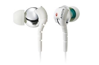 SONY MDR-EX510SL 密閉型垂直入耳式耳機 特殊 ABS 外罩,呈現低音與中高頻聲音