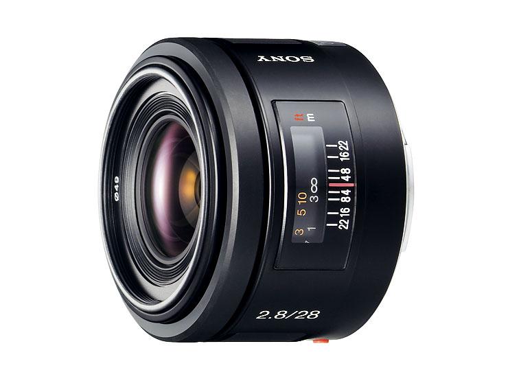 SONY SAL-28F28 28mm F2.8 數位單眼相機鏡頭 內建遮光罩