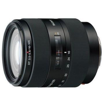 SONY SAL-16105 鏡頭(公司貨) 最短對焦距離均為40cm 焦距約為廣角24mm到中望遠157mm