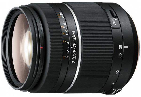 SONY SAL-2875 數位單眼相機鏡頭 28-75mm F2.8 SAM 明亮的 F2.8 大光圈