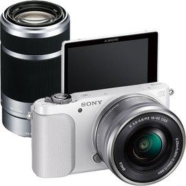 SONY NEX-3NY 16-50+55-210mm雙鏡組 ★贈電池(共2顆)+16G高速卡+座充+保護貼+大清潔組+讀卡機 NEX-3N