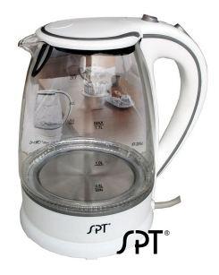 尚朋堂藍光炫彩玻璃玻璃快煮壺 KT-20GS  *壺身採用耐熱玻璃*