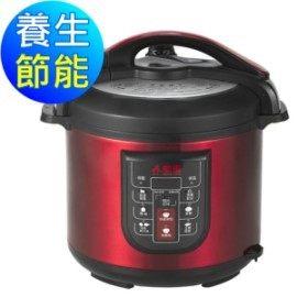 勳風 6L 養生節能精饌鍋 HF-8872  多種程序模式設計,煮食多元化   可預約時間定時保溫   蒸、煮、燉、燜樣樣行