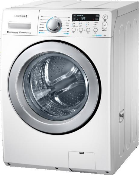 ★2016/11/30前,回函贈7-11商品卡500元! SAMSUNG 三星 14KG 滾筒洗衣機 WD14F5K5ASG/TW  14F5K5