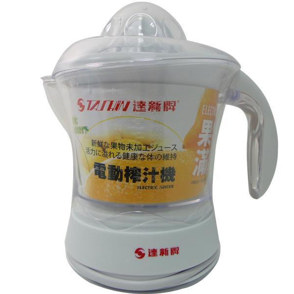 達新牌 電動榨汁機 TJ-5660 大果汁杯,容量1000c.c.  附透明防塵蓋/兩個榨汁盤  配件易安裝,折卸,清洗方便