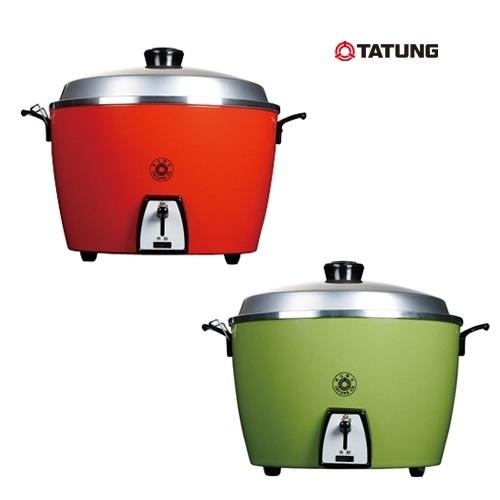大同6人份電鍋(不鏽鋼內鍋) TAC-06L-SR(朱紅) /TAC-06L-SG(翠綠)