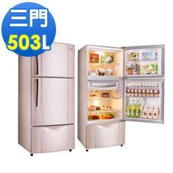 TECO 東元 503公升 變頻三門電冰箱 R5061VXP  ★DC變頻控制-恆溫,省電,靜音